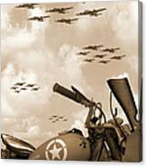1942 Indian 841 - B-17 Flying Fortress' Canvas Print
