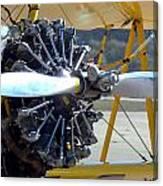1943 Boeing Super Stearman Canvas Print