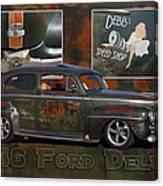 1946 Ford Deluxe Canvas Print