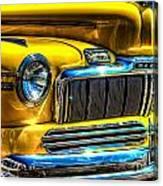 1946 Mercury Eight Street Rod Grille Canvas Print