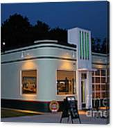 1947 Amoco Gas Station Canvas Print
