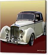 1947 Bentley M K  5   G T X  Canvas Print