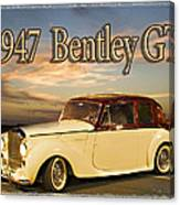 1947 Bentley Canvas Print