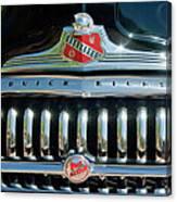 1947 Buick Sedanette Grille Canvas Print