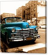 1947 Cadillac Convertible Canvas Print