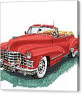 Cadillac Series 62 Convertible Canvas Print