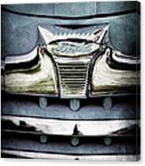 1947 Ford Deluxe Grille Emblem Canvas Print