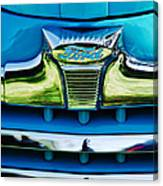 1947 Ford Deluxe Grille Ornament -0700c Canvas Print