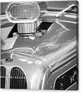 1948 Anglia Engine -522bw Canvas Print