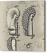 1948 Boxing Glove Patent Canvas Print