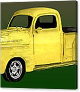 1948 Custom Ford Pick Up Canvas Print