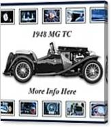 1948 Mg Tc Canvas Print