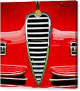 1949 Alfa Romeo 6c 2500 Ss Pininfarina Cabriolet Grille Canvas Print