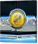 1949 Chrysler Windsor Grille Emblem Canvas Print