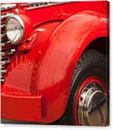 1949 Diamond T Truck Front End Canvas Print
