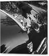1949 Ford 2 Door Custom Painted Bw    Canvas Print