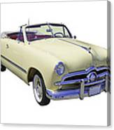 1949 Ford Custom Deluxe Convertible Canvas Print