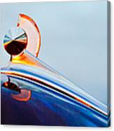 1949 Ford Hood Ornament 2 Canvas Print