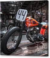 1949 Harley Davidson Canvas Print
