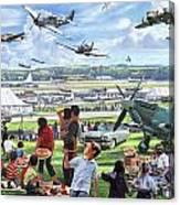 1950 Airshow Canvas Print