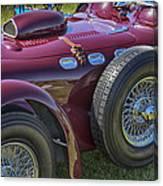 1950 Allard J2 Competition Roadster Canvas Print