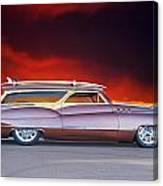 1950 Buick Woody Wagon X Canvas Print