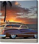 1950 Buick Woody Wagon Xi Canvas Print