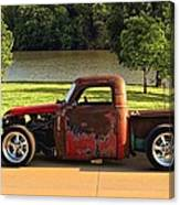 1950 Chevrolet Stubby Pickup Truck Canvas Print