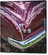 1950 Chevrolet Tailights And Bumper Canvas Print
