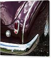 1950 Chevrolet Taillight And Bumper Canvas Print