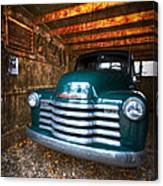 1950 Chevy Truck Canvas Print