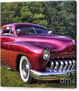1950 Custom Mercury Canvas Print