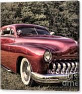 1950 Custom Mercury Subdued Color Canvas Print