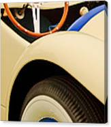 1950 Eddie Rochester Anderson Emil Diedt Roadster Steering Wheel Canvas Print