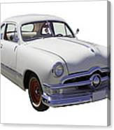 1950 Ford Custom Antique Car Canvas Print