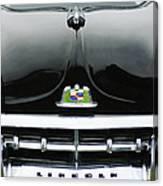 1950 Lincoln Cosmopolitan Henney Limousine Grille Emblem - Hood Ornament Canvas Print