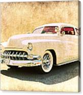1950 Mercury Grunge Canvas Print
