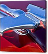1950 Nash Hood Ornament Canvas Print