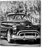 1950 Oldsmobile 88 -105bw Canvas Print