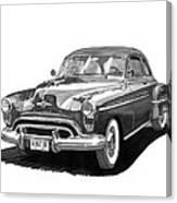 1950 Oldsmobile Rocket 88 Canvas Print