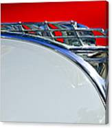 1950 Plymouth Hood Ornament 3 Canvas Print
