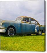 1950 Pontiac Chieftan Canvas Print