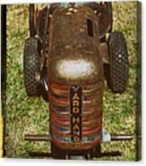 1950s Yard Hand Tractor Canvas Print