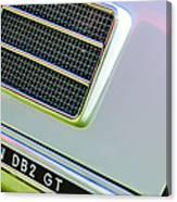 1951 Aston Martin Db2 Coupe Side Emblem Canvas Print