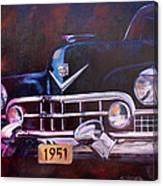 1951 Cadillac Canvas Print