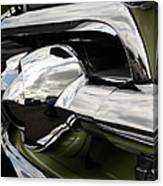 Old Car Grille Canvas Print
