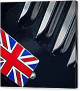 1951 Jaguar Proteus C-type British Emblem Canvas Print