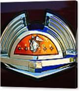 1951 Mercury Emblem Canvas Print
