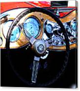 1951 Mg Td Dashboard Canvas Print