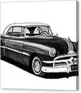 1951 Pontiac Hard Top Canvas Print